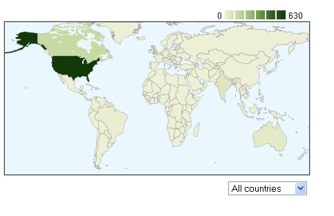 Geographical Viewership Worldwide